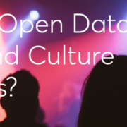 Could Open Data Help Arts and Culture Listings? - snapshot from the blog post accompanying the report release